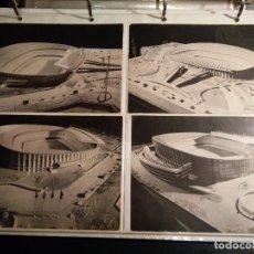 Coleccionismo deportivo: COLECCION POSTALES INAUGURACION DEL CAMP NOU MAQUETA DEL FUTBOL CLUB FC BARCELONA F.C BARCELONA CF . Lote 80789806