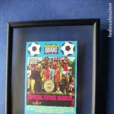 Coleccionismo deportivo: CUADRO ZONA DE OBRAS ESPECIAL FUTBOL MUNDIAL-SGT.PEP. 1998 PDELUXE. Lote 81938556