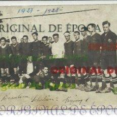 Coleccionismo deportivo: (F-170456)POSTAL FOTOGRAFICA DEL F.C.BARCELONA 1927-1928. Lote 82908364