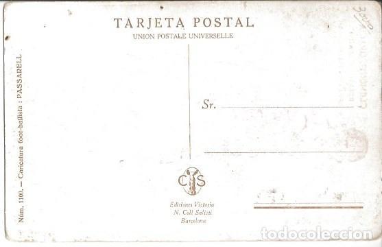 Coleccionismo deportivo: POSTAL FC CF FUTBOL CLUB BARCELONA BARÇA JUGADOR CLEMENTE GRACIA - Foto 2 - 83847340