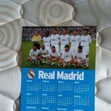 Coleccionismo deportivo: LAMINA POSTAL DE UNA PÁGINA, CALENDARIO 1998 REAL MADRID 98 (DIARIO AS) - EQUIPO. Lote 83872952
