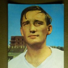 Coleccionismo deportivo: POSTAL - JUGADOR FUTBOL - REAL MADRID - 36.- ZOCO - BERGAS IND. GRAF. Lote 85331100