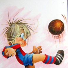 Coleccionismo deportivo: POSTAL FUTBOL POST CARD FOOTBALL F.C. BARCELONA. Lote 85674132