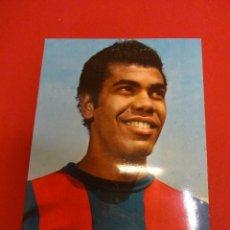 Coleccionismo deportivo: MENDOÇA. CF BARCELONA. POSTAL ORIGINAL. AÑOS 60S. Lote 86602668