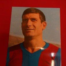Coleccionismo deportivo: ELADIO. CF BARCELONA. POSTAL ORIGINAL. AÑOS 60S. Lote 86602708