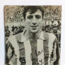 Coleccionismo deportivo: UFARTE (ATLÉTICO DE MADRID) FOTO-POSTAL ORIGINAL SÍ A LA PAZ PARA EL REFERENDUM DE 14-12-1966 . Lote 87330364
