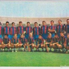 Coleccionismo deportivo: POSTAL FUTBOL CLUB BARCELONA PLANTILLA 1967-68 . REVERSO: FOTO H. SEGUÍ. Nº 129. SIN DIVIDIR. Lote 87685384