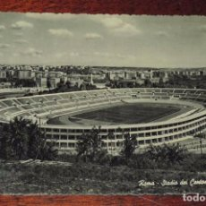 Coleccionismo deportivo: FOTO POSTAL DEL ESTADIO DE FUTBOL DE ROMA - STADIO DEI CENTOMILA. ESTADIO DE LOS CIEN MIL ESPECTADOR. Lote 89044312