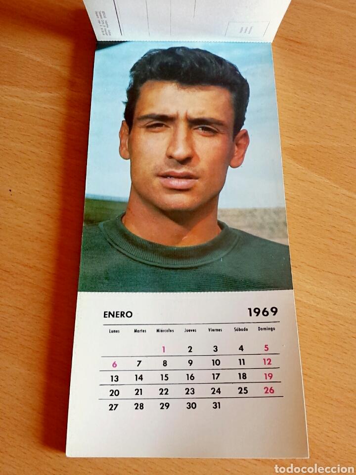 Coleccionismo deportivo: Calendario postal Fútbol 1969 C. F. BARCELONA - Foto 3 - 90860710