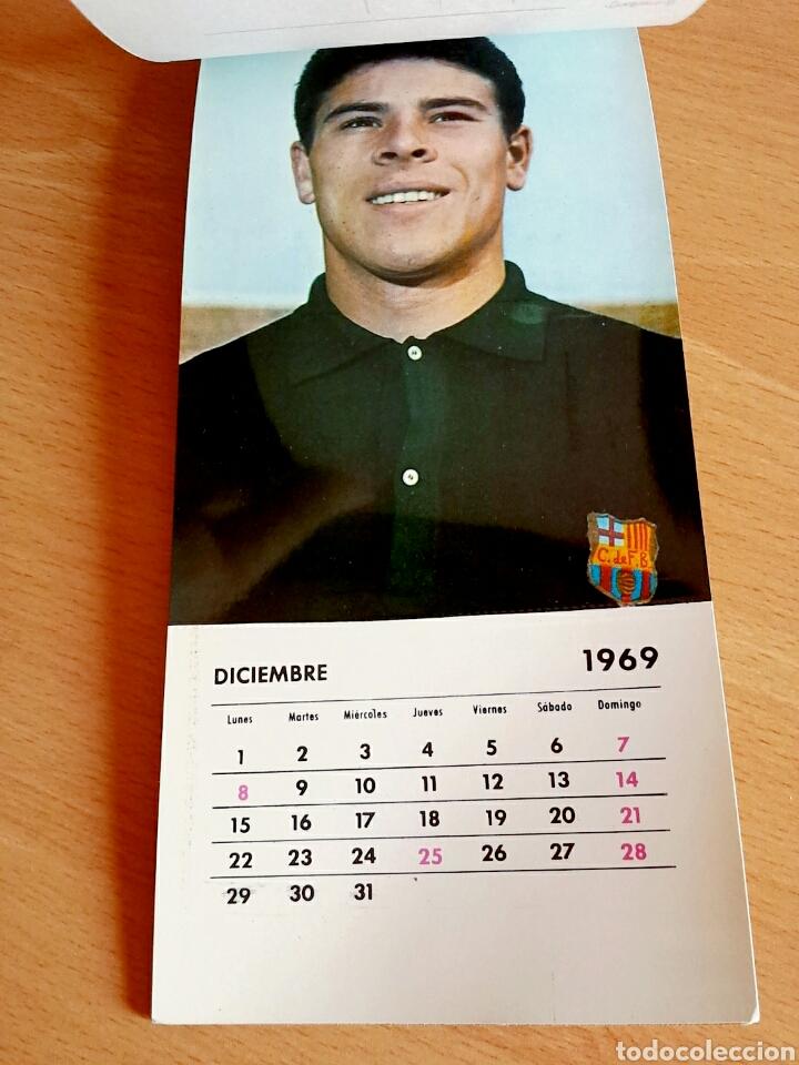 Coleccionismo deportivo: Calendario postal Fútbol 1969 C. F. BARCELONA - Foto 14 - 90860710
