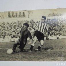 Coleccionismo deportivo: FOTOGRAFIA DE VALDERRAMA, JUGADOR DEL RACING CLUB DE MADRID, CAMPEONATO DE ESPAÑA, FOTO ALVARO, MADR. Lote 91805875