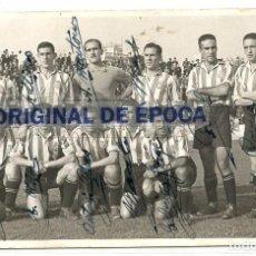 Coleccionismo deportivo: (F-170746)FOTOGRAFIA R.C.D.ESPAÑOL AUTOGRAFOS 1941.ARCHIVO SANTIAGO GARCIA MARTINEZ SOCIO Nº1. Lote 92014010