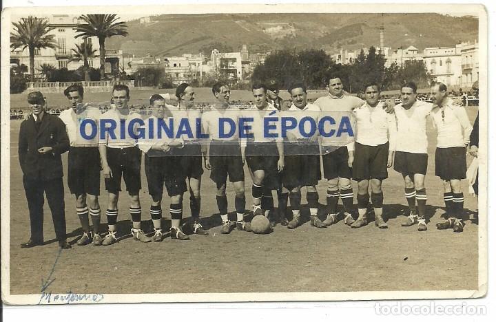 (F-170751)POSTAL FOTOGRAFICA NUEVO TERRENO SARRIA.ARCHIVO SANTIAGO GARCIA SOCIO Nº1 R.C.D.ESPAÑOL (Coleccionismo Deportivo - Postales de Deportes - Fútbol)