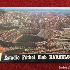 Coleccionismo deportivo: R2652 POSTAL FOTOGRAFIA CAMPO DE FUTBOL ESTADIO NOU CAMP BARCELONA 265. Lote 93031655