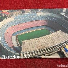 Coleccionismo deportivo: R2671 POSTAL FOTOGRAFIA NOU CAMP BARCELONA 92 OLIMPIADAS. Lote 93155695