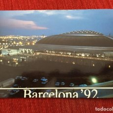 Coleccionismo deportivo: R2674 POSTAL FOTOGRAFIA OLIMPIADAS BARCELONA PALAU SANT JORDI NOCTURNA. Lote 93156085