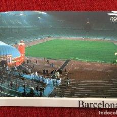 Coleccionismo deportivo: R2678 POSTAL FOTOGRAFIA OLIMPIADAS BARCELONA 92 1992 COBI NOU CAMP MUSEO. Lote 93156420
