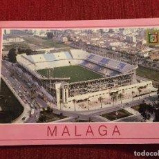 Coleccionismo deportivo: R2696 POSTAL FOTOGRAFIA ESTADIO LA ROSALEDA MALAGA DOMINGUEZ MADRID NUMERO 16. Lote 93791020
