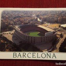 Coleccionismo deportivo: R2700 POSTAL FOTOGRAFIA ESTADIO CAMP NOU BARCELONA MB EDITORES. Lote 93791440