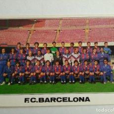 Coleccionismo deportivo: POSTAL BARÇA PLANTILLA FC BARCELONA 1988-1989 Nº B 0210 EDICIONS A. CAMPAÑÁ. Lote 93835070