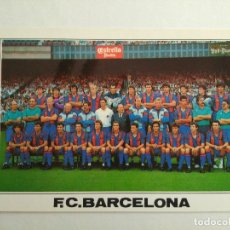 Coleccionismo deportivo: POSTAL BARÇA PLANTILLA FC BARCELONA 1990-1991 Nº B 0210 EDICIONS A. CAMPAÑÁ. Lote 93835285