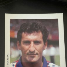 Coleccionismo deportivo: POSTAL POST CARD BERIGUISTAIN F C BARCELONA. Lote 95186571