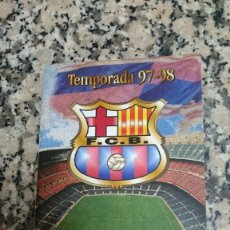 Coleccionismo deportivo: LIBRE D´AUTOGRAFOS F.C. BARCELONA TEMPORADA 97 - 98. Lote 95327723