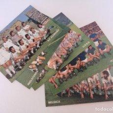 Coleccionismo deportivo: LOTE DE 5 POSTAL DE FUTBOL - 5 SELECCION NACIONAL GRANDESA DON BALÓN 1982 - NUEVAS. Lote 95410819