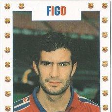 Coleccionismo deportivo: POSTAL DE LUIS FIGO. Lote 95834051
