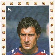 Coleccionismo deportivo: POSTAL DE FIGO, F.C. BARCELONA. Lote 221525630
