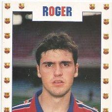 Coleccionismo deportivo: POSTAL DE ROGER. Lote 95836891