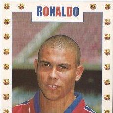 Coleccionismo deportivo: POSTAL DE RONALDO LUIS NAZARIO. Lote 95837347