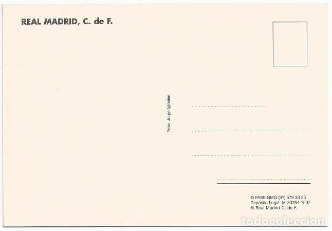 Coleccionismo deportivo: POSTAL DE AMAVISCA, REAL MADRID - Foto 2 - 214653757