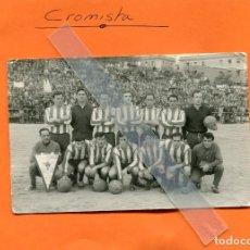 Coleccionismo deportivo: FOTOGRAFIA TAMAÑO POSTAL DEL EQUIPO DE FUTBOL ' MOSCARDO ' DE MADRID. Lote 95932295