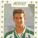 Coleccionismo deportivo: POSTAL DE MERINO, REAL BETIS. Lote 96095603