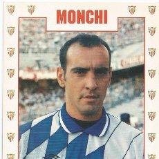 Coleccionismo deportivo: POSTAL DE MONCHI, SEVILLA F.C.. Lote 96103951