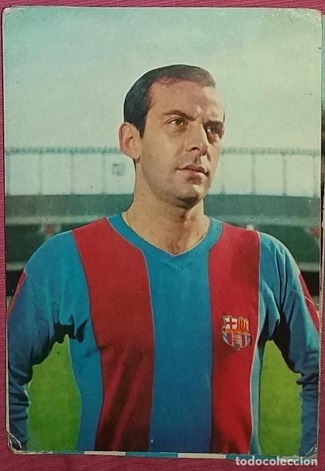 PEREDA F.C. BARCELONA - POSTAL OSCARCOLOR - 1967-68 (Coleccionismo Deportivo - Postales de Deportes - Fútbol)