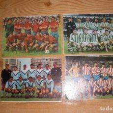 Coleccionismo deportivo: LOTE 4 LÁMINAS AÑOS 60 (REAL BETIS, PONTEVEDRA CF, AT. MADRID, CD EUROPA). Lote 97135327