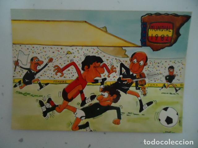 FOTO POSTAL - MUNDIAL ESPAÑA 1982 - SIN CIRCULAR . AÑOS 60- (Coleccionismo Deportivo - Postales de Deportes - Fútbol)