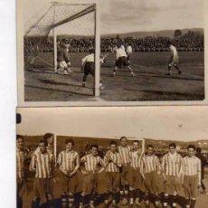 Coleccionismo deportivo: LOTE 7 POSTALES. ZABALA. MOLINON. SPORTING GIJON, OVIEDO, VALENCIA,FOTO COLLADO VEGA OVIEDO.. Lote 99349203