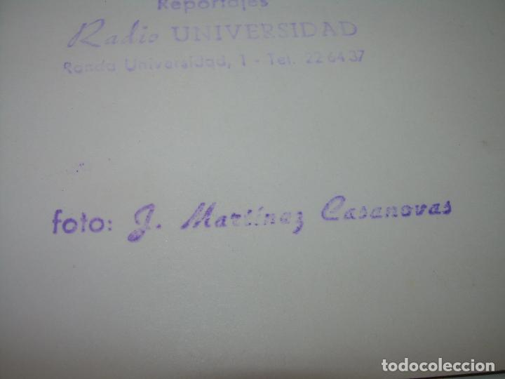 Coleccionismo deportivo: FOTOGRAFIA DE LA EPOCA..EQUIPO F.C. BARCELONA....CAMPO DE LAS CORTS..FOTOGRAFO.J.MARTINEZ CASANOVAS. - Foto 5 - 101127995