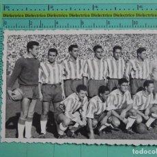 Coleccionismo deportivo: FOTO POSTAL. EQUIPO ALINEACION GRANADA CLUB DE FÚTBOL VS REAL MADRID. TEMPORADA 1957 - 1959. 1560. Lote 124505222