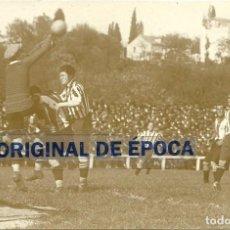 Coleccionismo deportivo: (F-171097)POSTAL FOTOGRAFICA R.C.D.ESPAÑOL-ATHLETIC , RICARDO ZAMORA RECHAZA UN CENTRO . FOTO SPORT. Lote 101659575