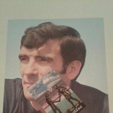 Coleccionismo deportivo: POSTAL OFICIAL JOSE ANGEL IRIBAR ATHLETIC CLUB DE BILBAO 1972 73 TARJETON ORIGINAL EUSKADI VASCO. Lote 111626540