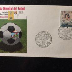 Coleccionismo deportivo: SOBRE 1ER DÍA MUNDIAL DEL FÚTBOL. Lote 103369396