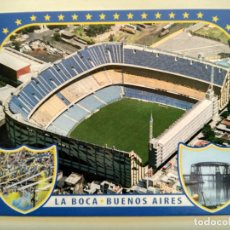 Coleccionismo deportivo: POSTAL LA BOCA JUNIORS - BUENOS AIRES ESTADIO LA BOMBONERA - STADION - STADIUM - STADE. Lote 103838299
