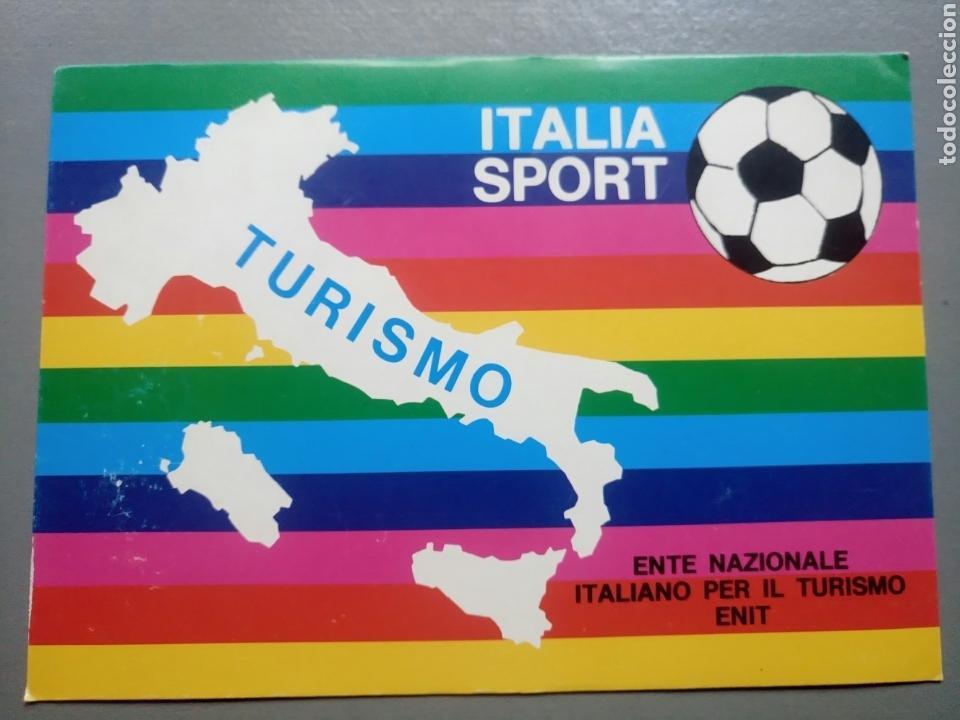 POSTAL ITALIA SPORT TURISMO (Coleccionismo Deportivo - Postales de Deportes - Fútbol)