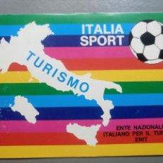 Coleccionismo deportivo: POSTAL ITALIA SPORT TURISMO. Lote 105771170