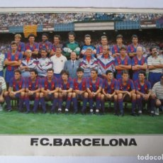 Coleccionismo deportivo: POSTAL F.C.BARCELONA PLANTILLA PROFESIONAL 1988-89 Nº230 EDICIONS A.CAMPAÑA BARCELONA BARÇA F.C.B. Lote 106041195