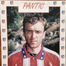 Coleccionismo deportivo: POSTAL DE PANTIC ATLETICO DE MADRID. Lote 106057102